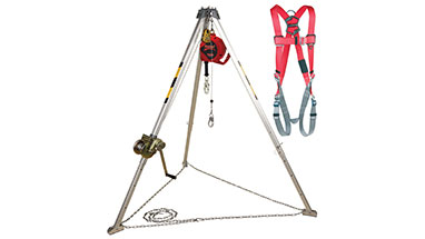 3M | Protecta Confined Space System Tripod Winch with SRL, and Harness