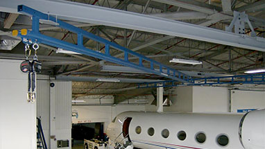 Aircraft Hangar Ceiling Fall Protection