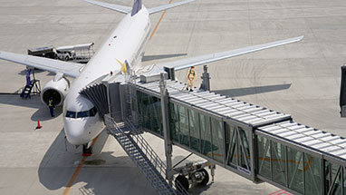 Airport Jetway Roofsafe Anchor and Cable System