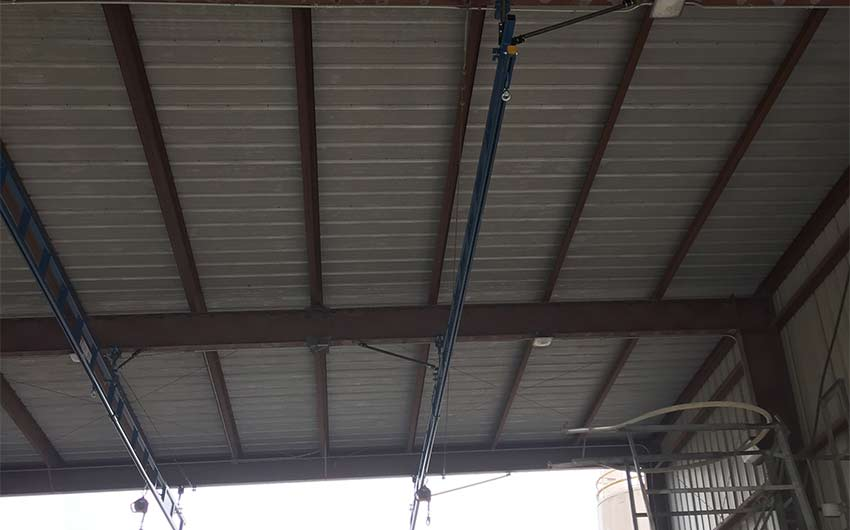 Ceiling Mounted Rigid Lifeline System