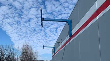 Railcar Wall Mounted Monorail Fall Arrest System