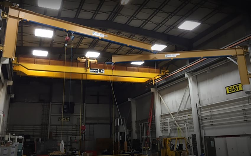 Swing-Arm Fall Protection System