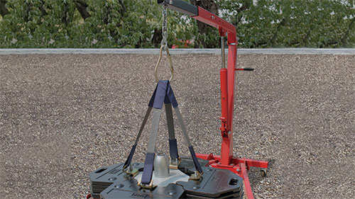 Counterweight Anchor with Lift Kit