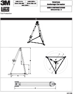 3M | DBI-SALA Confined Space Tripod Manual