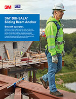 3M | DBI-SALA Sliding Beam Anchor Brochure