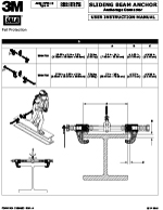 3M | DBI-SALA Sliding Beam Anchor Manual