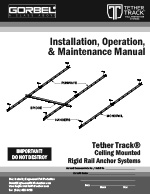 Tether Track Ceiling Suspended Fall Protection Manual
