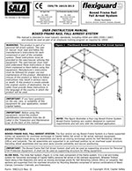 FlexiGuard Box Frame Mobile Fall Protection Manual