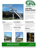 GREEN Insta Rack Pedestal Platforms Brochure
