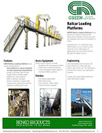 GREEN Railcar Loading Platforms Brochure