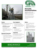 GREEN Removeable Insta-Rack Platforms Brochure