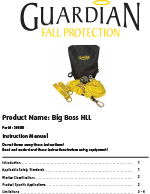 Guardian Big Boss Horizontal Lifeline Manual