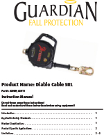 Guardian Diablo Cable SRL Manual