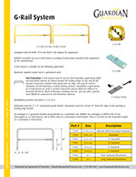 Guardian Portable G-Rail System Brochure