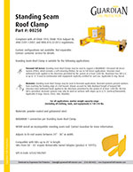 Guardian Reusable Roof Anchors Brochure