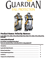 Guardian Velocity Harness Manual