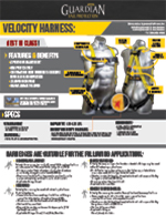 Guardian Velocity Harness Spec Sheet