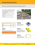 Portable Guardrail Brochure
