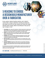 Reasons to Choose a Design-Build Manufacturer