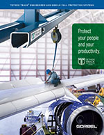 Tether Track Fall Protection Brochure