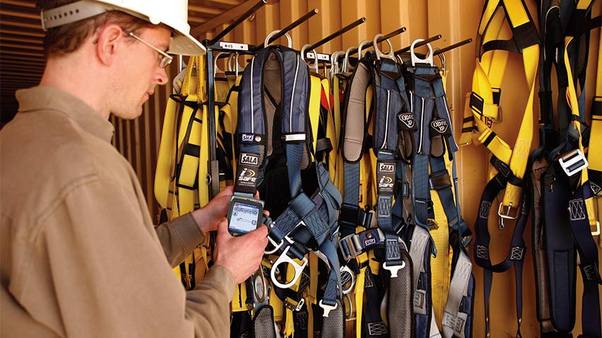 Fall Protection Equipment Inspection