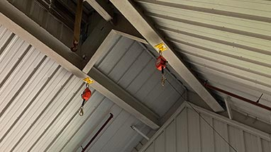 Fall Arrest Anchors for Hay Loft