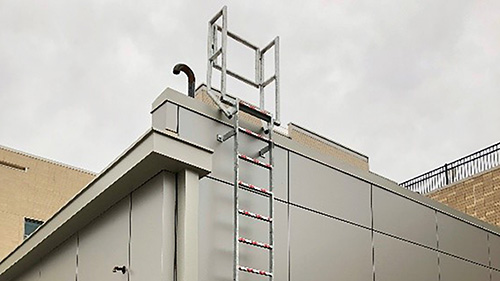 Fixed Access Roof Ladder System