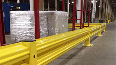 Guardrail Protecting Equipment