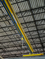 Overhead Crane Fall Protection System