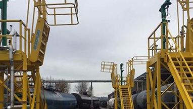 Railcar Fall Protection Platforms