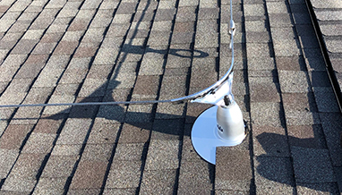 Roofsafe Horizontal Lifeline Install