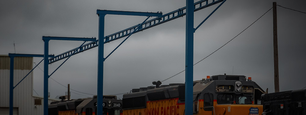 Outdoor Monorail System for Railcar Repair
