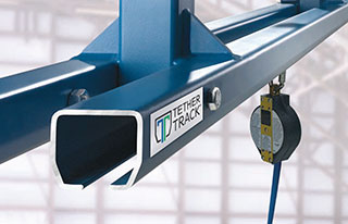Gorbel Tether Track Overhead Fall Protection
