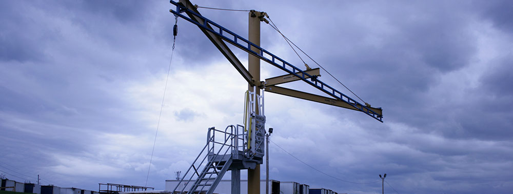 Single Pole Fall Protection Systems
