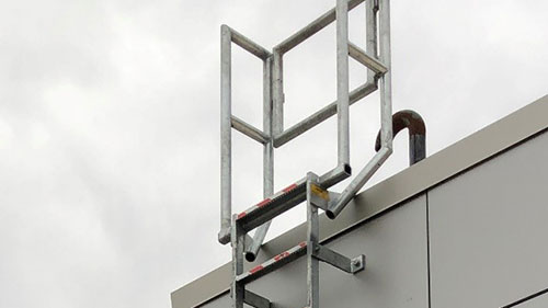 Vertical Fixed Access Roof Ladder Systems