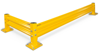 Build Your Own, Heavy Duty 18 inch Ht, Single Rail, Industrial Guardrail