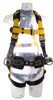 Guardian Series 3 Full-Body Harness w/ Waist Pad, Pass-Through Chest and Legs, Side D-Rings, Front