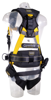 Guardian Series 5 Full-Body Harness w/ Waist Pad, Quick-Connect Chest and Legs, Side D-Rings, Back