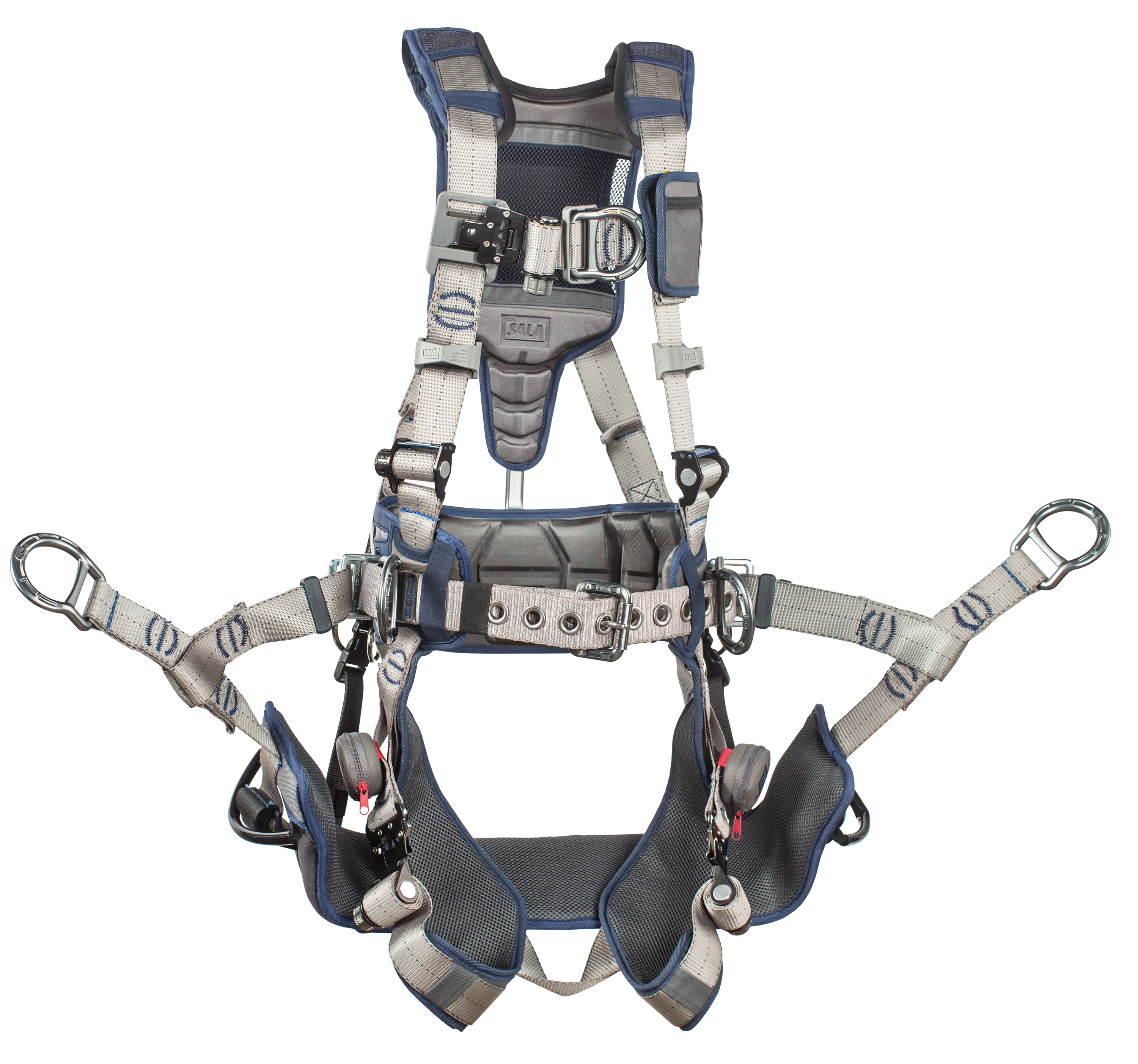 3M | DBI-SALA ExoFit STRATA Tower Climbing Harness, Triple Action Chest and  Leg Buckles, Chest D-Ring
