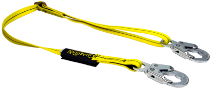 Guardian Non-Shock Absorbing Lanyard, 4 - 6 ft. Single Leg