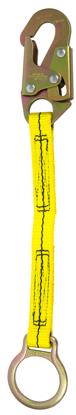 Guardian Non-Shock Absorbing Extension Lanyard, 18 in. Single Leg w/ Snap Hook