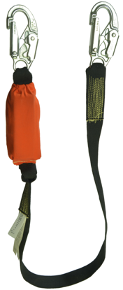 Guardian Kevlar Lanyard, 6 ft. Single Leg w/ Removable Flame Resistant Protective Cover