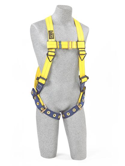 Delta Vest Harness, Pass-Through Chest, Tongue-Buckle Legs, Front
