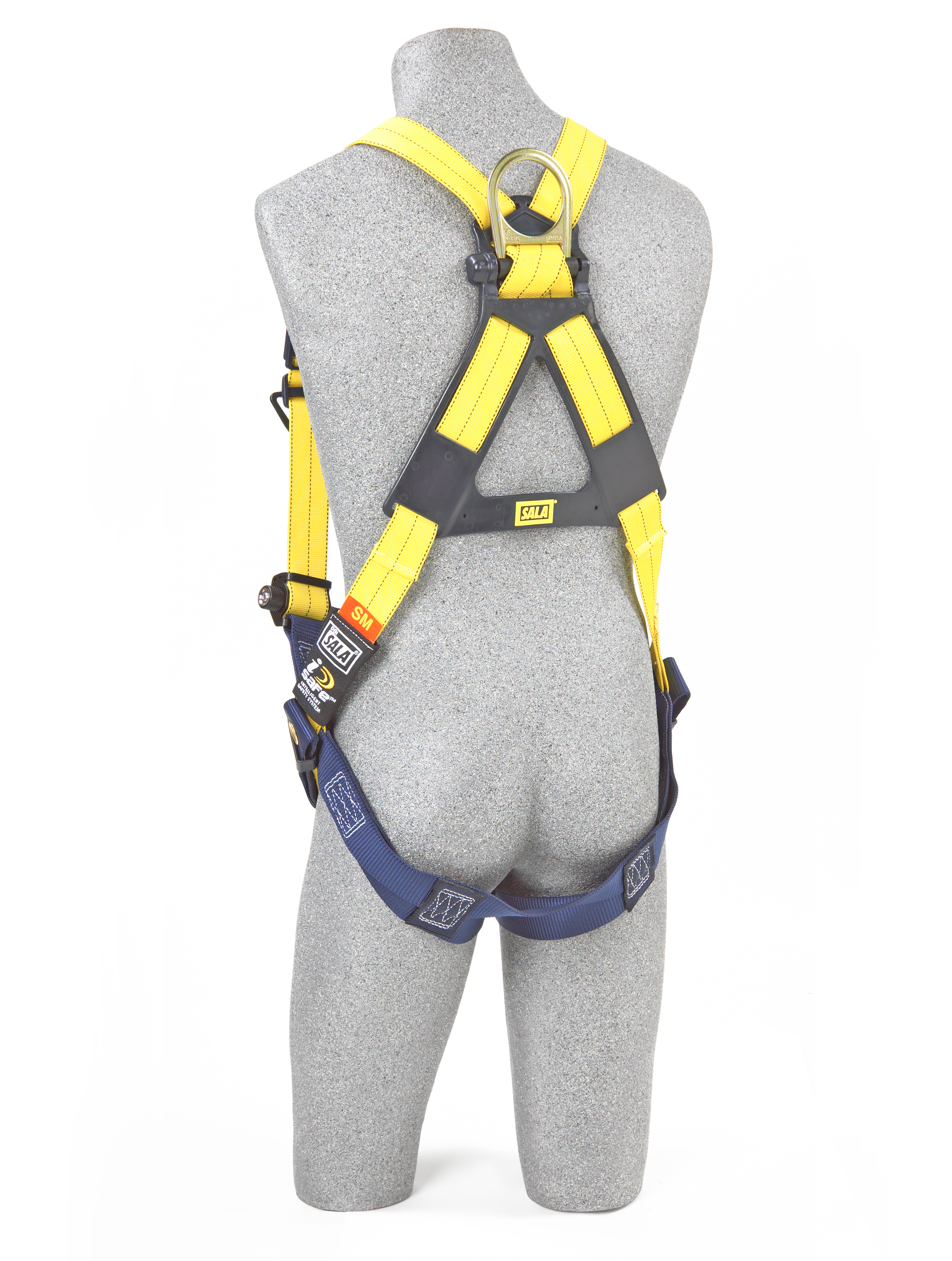 Delta Vest Harness, Pass-Through Chest, Tongue-Buckle Legs, Back