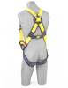 Delta Vest Harness, Quick-Connect Chest and Legs, Back