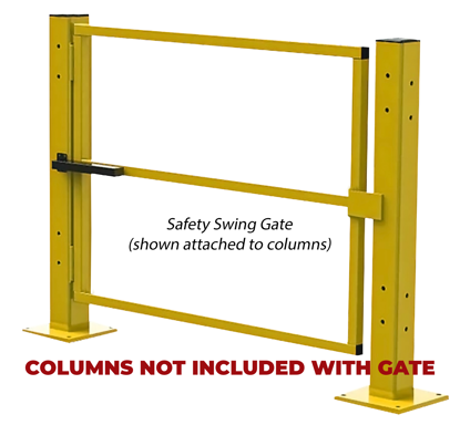 Safety Swing Gate (Columns and Hardware NOT Included, bolts to C2 Column)
