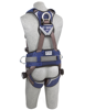 ExoFit NEX Construction-Style Harness, Quick-Connect Chest and Legs, Side D-Rings, Back