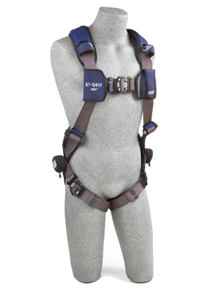 ExoFit NEX Vest-Style Harness, Quick-Connect Chest and Legs, Front
