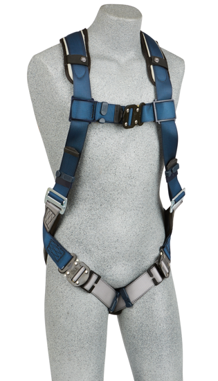 ExoFit Vest-Style Harness, Quick-Connect Chest and Legs, Front