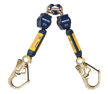 3M | DBI-SALA Nano-Lok SRL, Twin-Leg, Web, 6 ft.